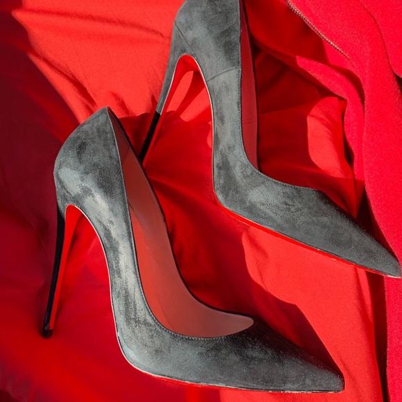 469abce6f63e Christian Louboutin Shoes - So Kate Black Suede size 40.5